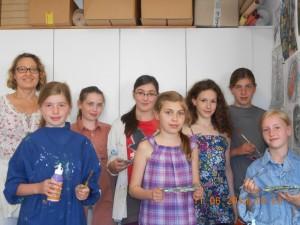 Lena und die fleißigen Mädels